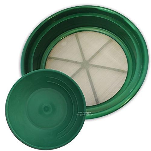 sifting pan plastic bottom dia