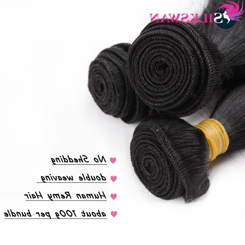 Silkswan Hair Natural Black Hair For