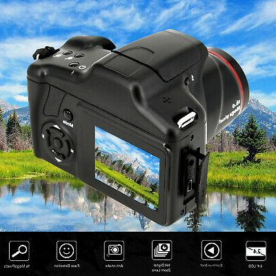 digital slr camera 16mp 1080p 2 4