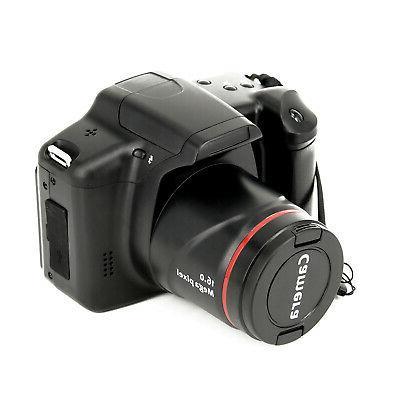 Digital SLR Camera 16MP 1080P 2.4 48* 50mm 720P VGA