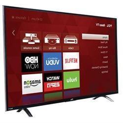 """TCL 43"""" Premium 4K 120Hz Smart LED Backlit Roku TV - 43UP130"""
