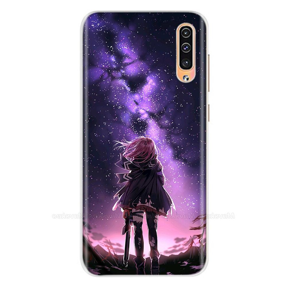 soft silicone case for <font><b>samsung</b></font> a50 Cases 6.4 <font><b>inch</b></font> Soft TPU Back for A50 A Phone shell Coque