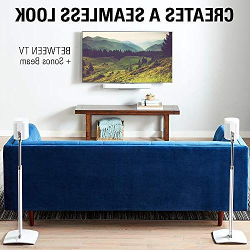 "Sanus Soundbar Mount with Sonos Beam Height 12"" Work with - Custom The Audio"
