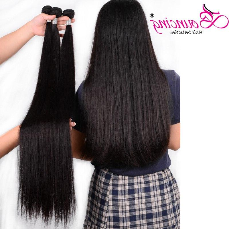Bouncing Straight Bundles Hair Weave Ratio 30 38 <font><b>40</b></font> Hair For