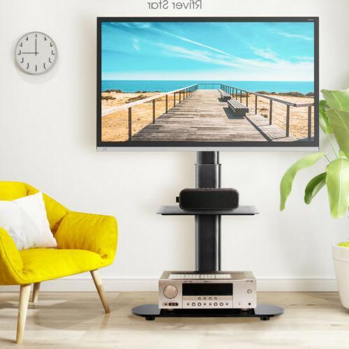 swivel universal tv floor stand with mount