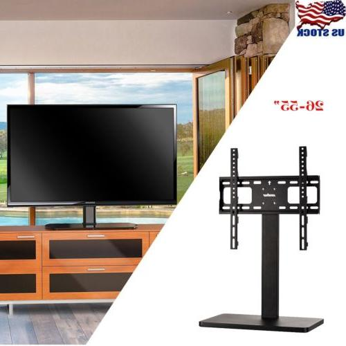 "Table Top Desk TV Mount Stand for 32""to60"" Height Adjust Bet"