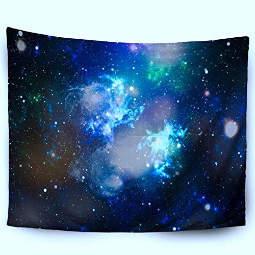 HerysTa Tapestry Inch High Field Space Texture Night Sky Wall Hang Bedroom