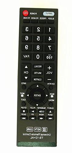 New Toshiba CT-90325 Universal Remote Control for All Toshib