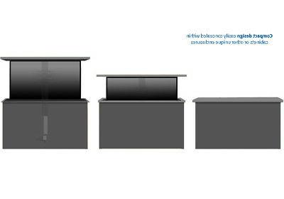 """VIVO TV Motorized Vertical Stand 32"""" 48"""" 