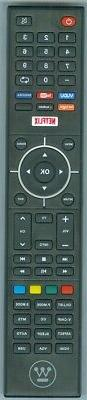 Westinghouse LCD TV Remote Control for Models WD65NC4190, WE