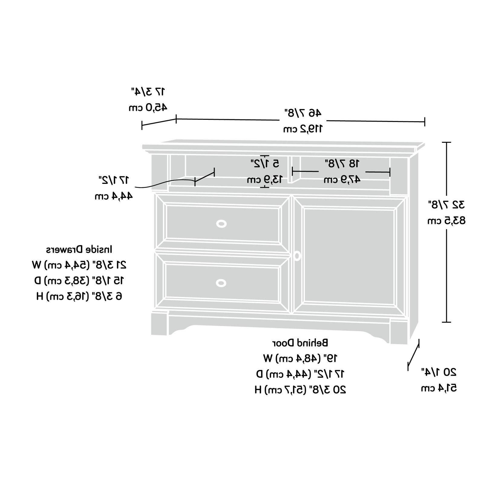 TV Flatscreen Console Unit Century