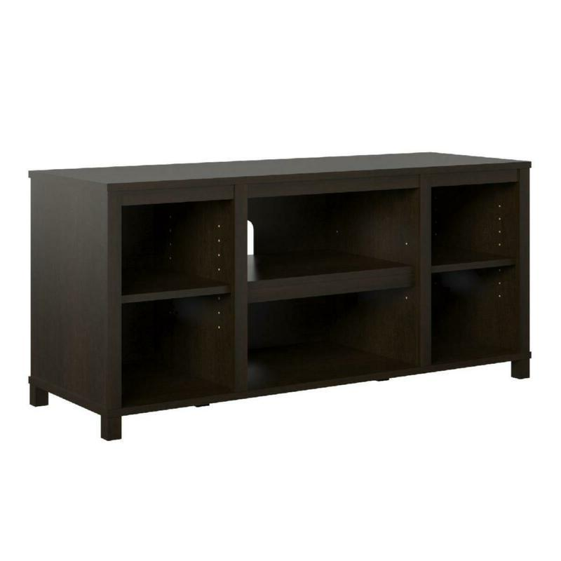 TV Stand Mount Station Console Espresso New