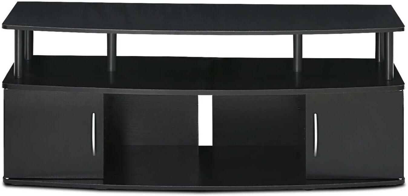 Tv Stand Cabinet Entertainment for Up to 50 Blackwood