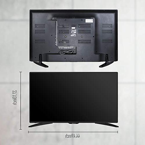 "SANSUI 50"" Flat PCA Input High and Monitor Display 4 HDMI"