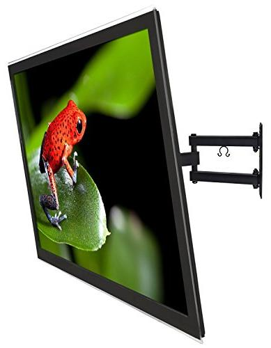 Mount-It! TV Mount Motion Articulating 17-Inch Extension for Inch LED, LCD, OLED TVs, 180 15