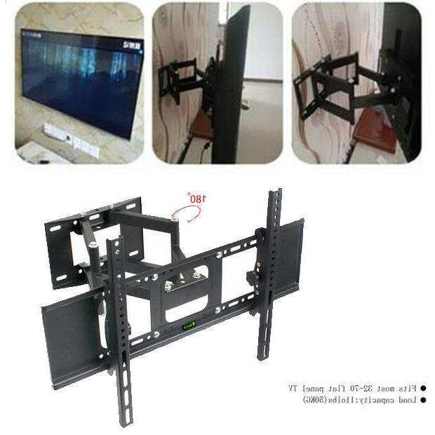 tv wall mount bracket dual