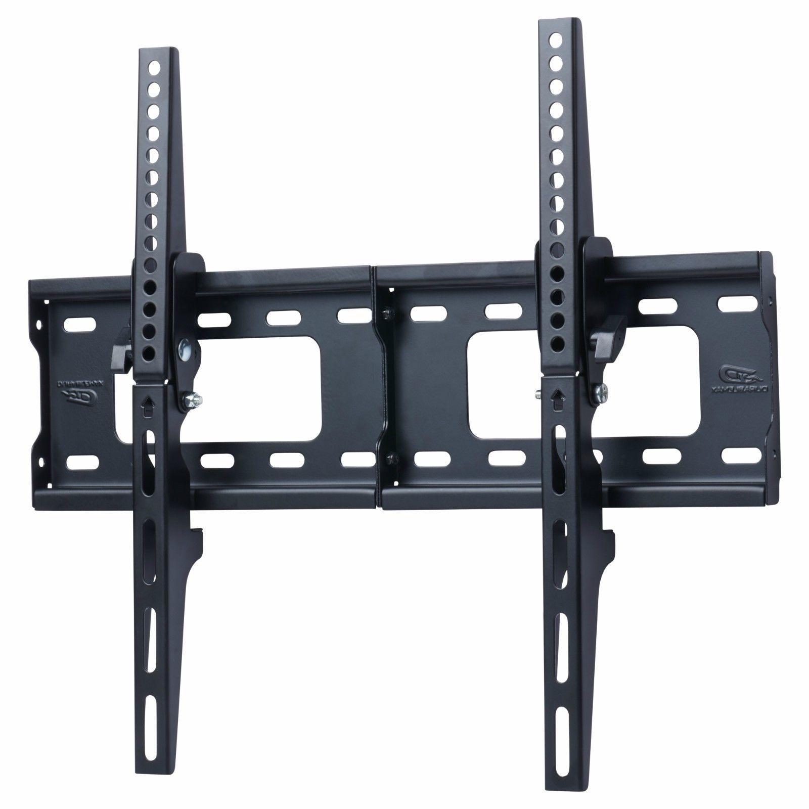 tv wall mount bracket flat 15 tilt