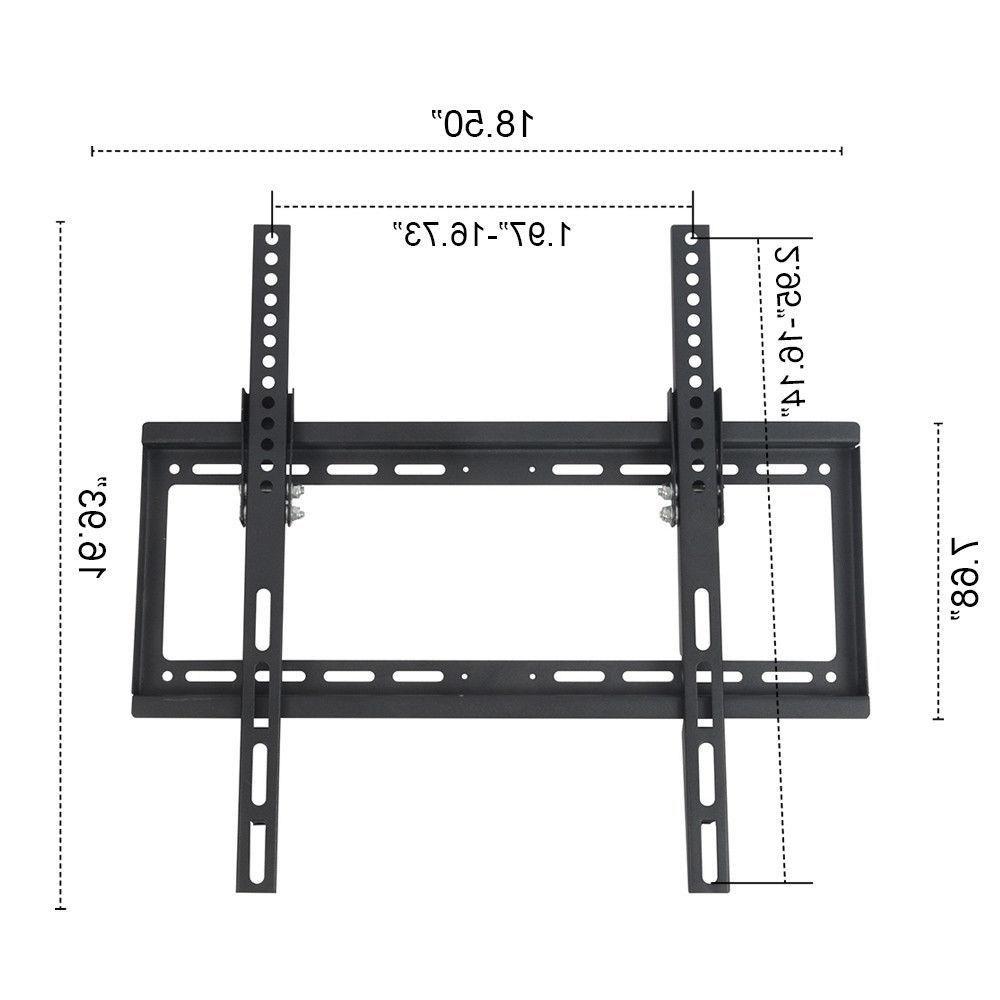 Full Inch TV Bracket LED Flat Screen Tilt