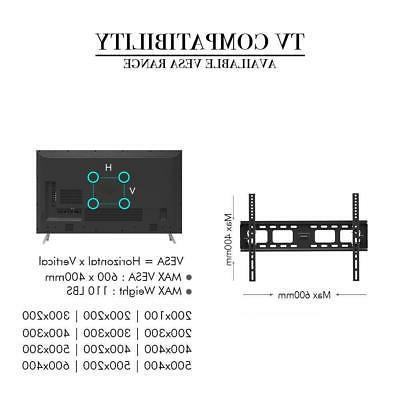 TV Wall Bracket Tilt 37 40 55 60