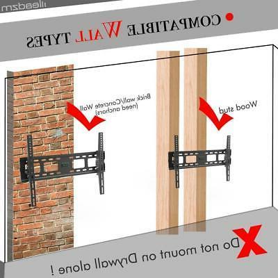 TV Mount VESA Bracket Tilt for 37 40 46 48 50 52 55 60 65 inch
