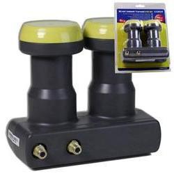 Twin LNB Monoblock Humax LNB feed size: 40 mm weatherproof