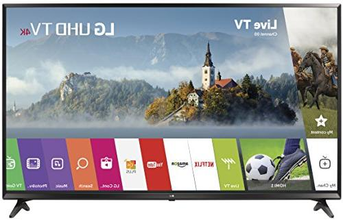 LG 55 Inch 4K UHD HDR Smart LED TV / 3 x HDMI / 2 x USB / 20