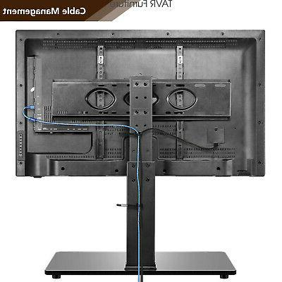Universal Swivel Tabletop Stand Base with for 50-85 inch TVs