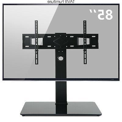 universal swivel tabletop tv stand base