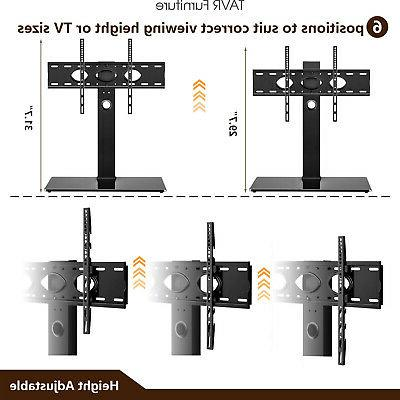 Universal Swivel Tabletop TV Stand Base for 50-85 inch OLED