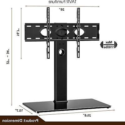 Universal Swivel Tabletop Stand Base for 50-85 inch LCD OLED
