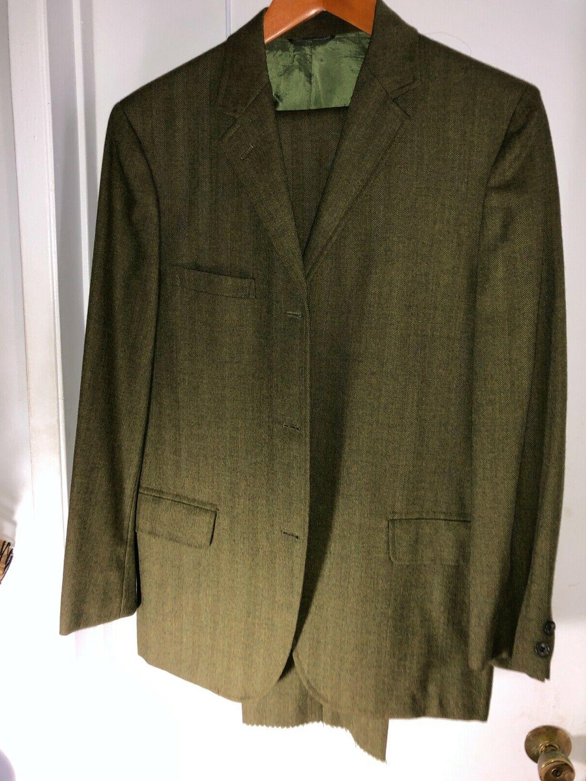 Vintage unworn 50 year old slim Canterfield suit  38 R 31 in