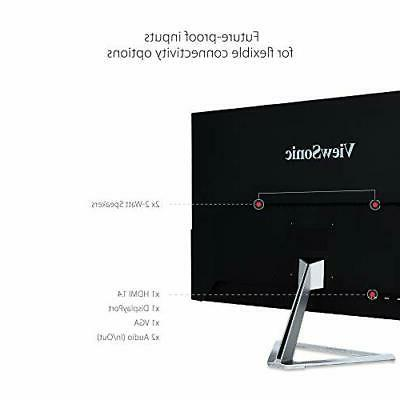 ViewSonic 32 1080p Widescreen Monitor with...