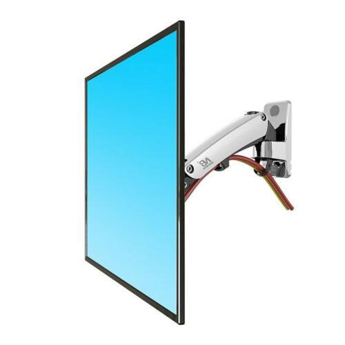 Wall Mount Gas Strut Full Motion LED LCD Monitor Tilt Arm Br