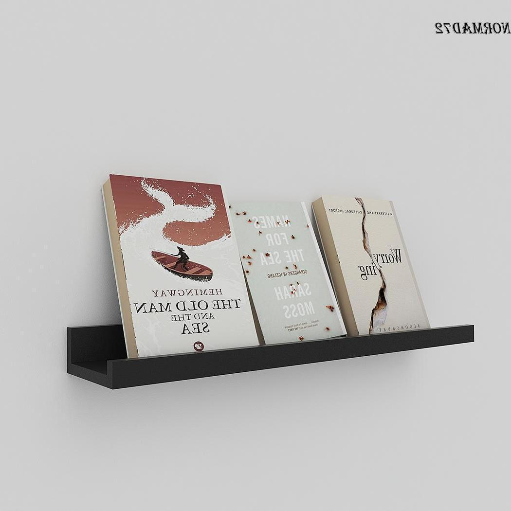 Wall Display Bookshelf Home Storage 60cm