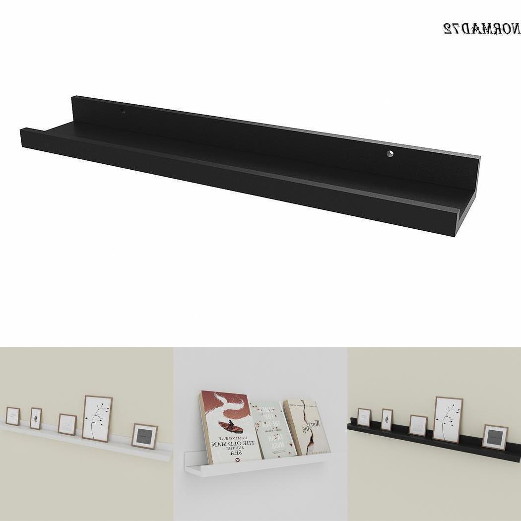 wall mount shelf floating display ledge shelf