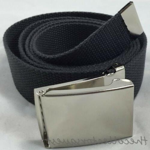 NEW inch GRAY FLIP BUCKLE MILITARY