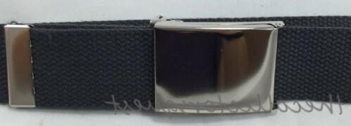 NEW WIDE inch FLIP TOP BUCKLE MILITARY WEB
