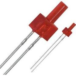 LED wired Red Cylindrical 2 mm 0.6 mcd 25 mA 2.2 V Panasonic
