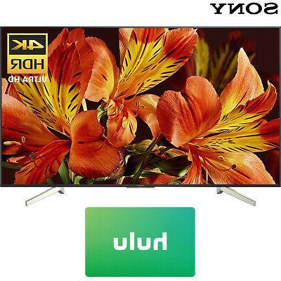 Sony XBR75X850F UHD Smart LED w/ Card