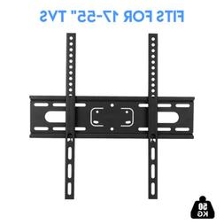 Large Flat Fixed TV Monitor Wall Mount Bracket for LCD LED S