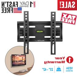 LCD LED Full Motion TV Wall Mount Bracket Tilt Fixed 24 32 3