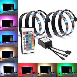 LED Strip Light Home Theater TV Backlight Lighting Kit Bias