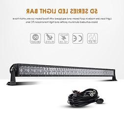 """Auxbeam LED Light Bar 50 """" 288W LED Work Light CREE Chips Dr"""