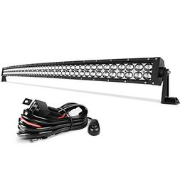led light bar 50 inch curved auto