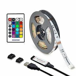 WENICE LED Light Strip for TV 50,55,60,65inch, Multi Color l