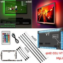 LED Strip Light USB Powered RGB Multi Color TV Backlight Lig