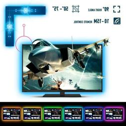 RSYEEK LED Strip Lights/RGB TV Backlight for 50-75 Inch USB