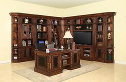 Parker House Leonardo 60 Inch Entertainment Office Library W