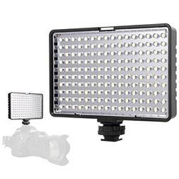LED Video Light, SAMTIAN Dimmalble Ultra Bright Dimmable Cam