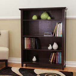 Lindendale Espresso 50-inch High Bookcase